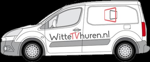 Peugeot-Witte tv huren